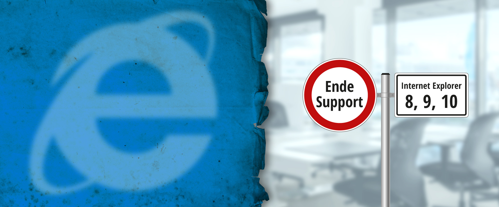 Ende Support Microsoft Internet Explorer 8, 9, 10